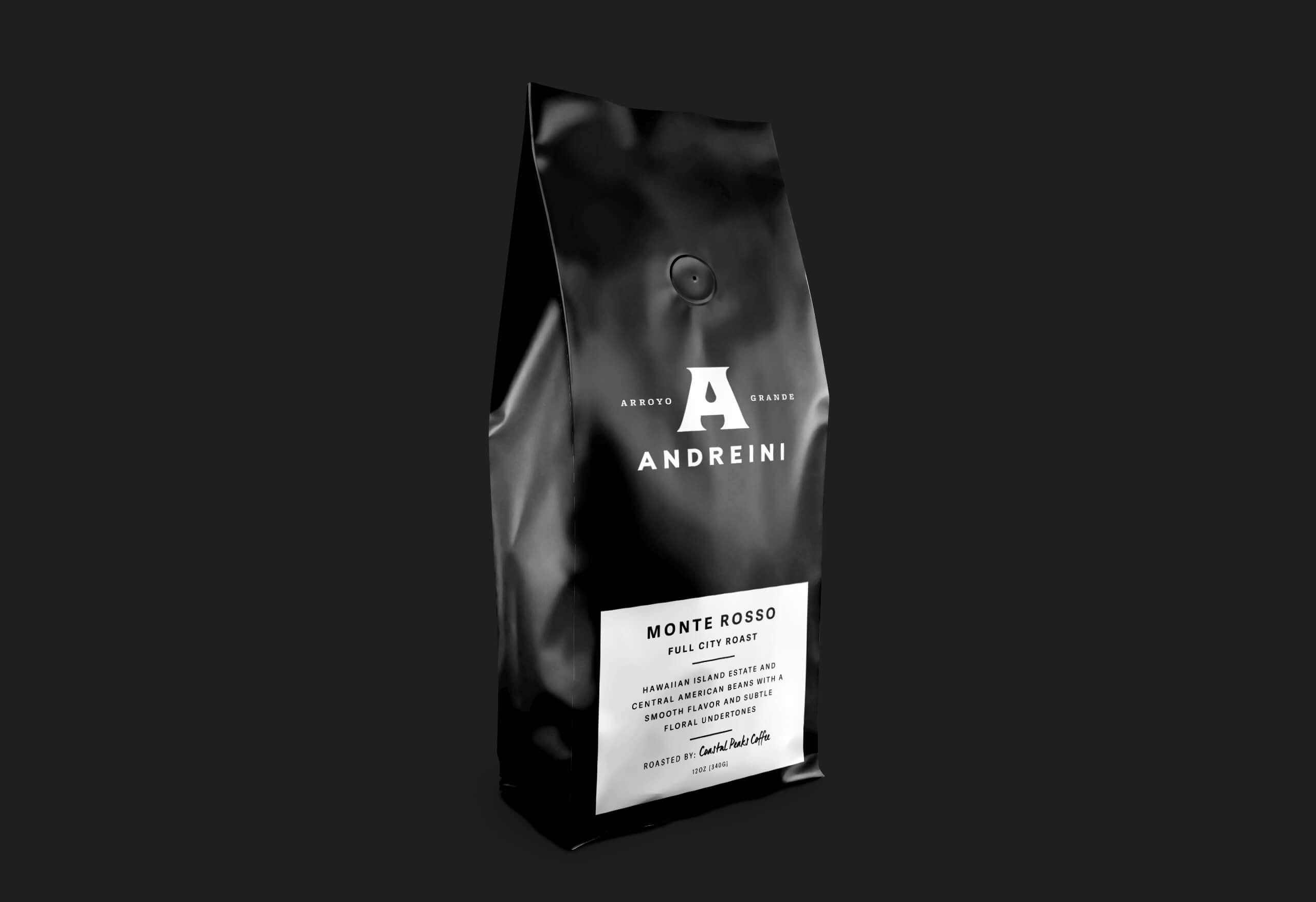 Andreini branding coffee bag
