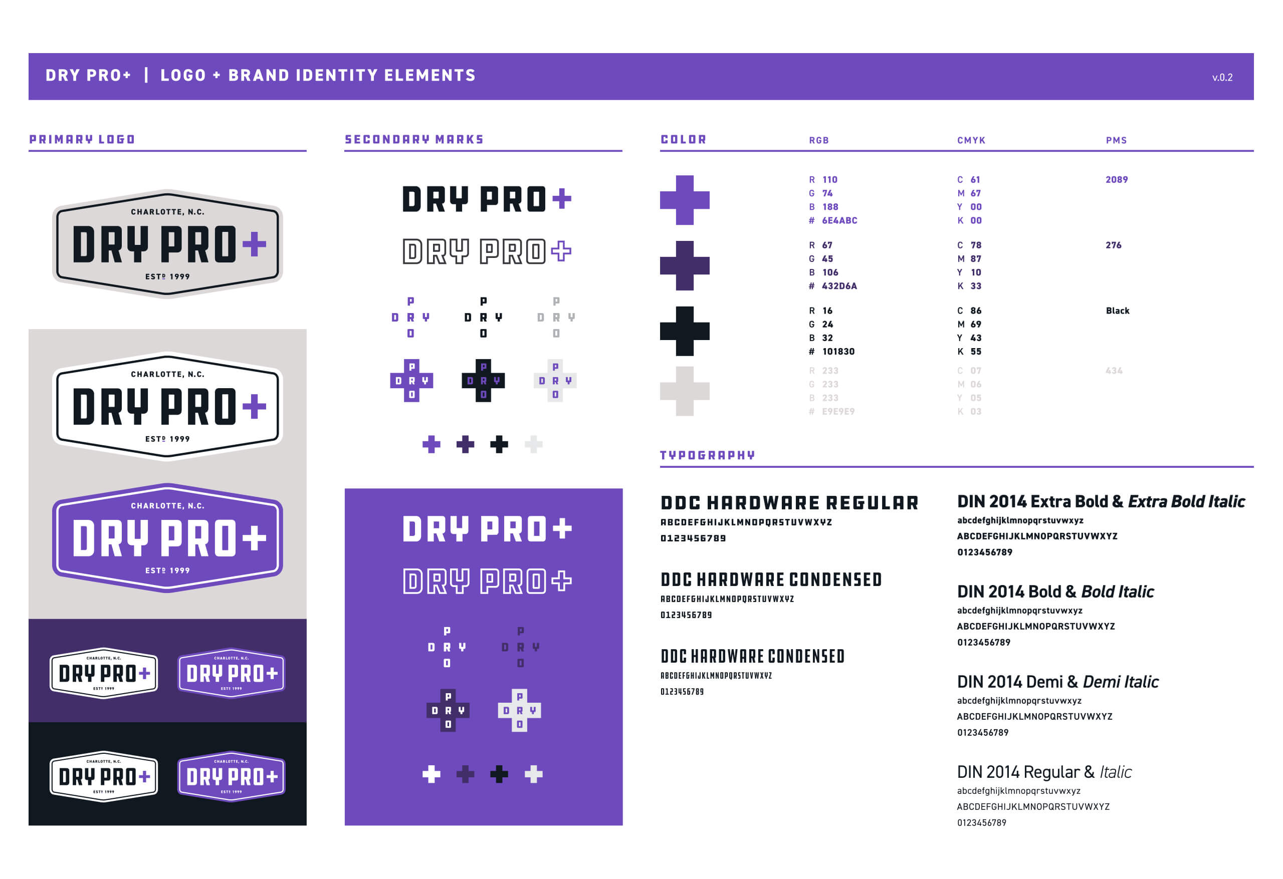 dry pro style guide